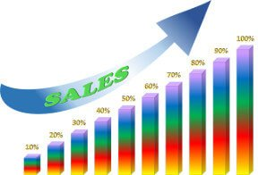 How To Start An Online Business - Sales Increase