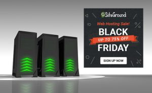 Black Friday and Cyber Monday Sale at SiteGround