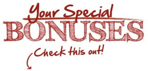 Your Special Bonuses