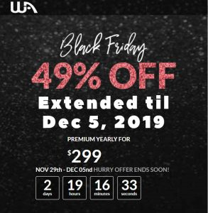 Wealthy Affiliate Black Friday and Cyber Monday Sale Extended