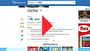 How To Choose Your Niche Training