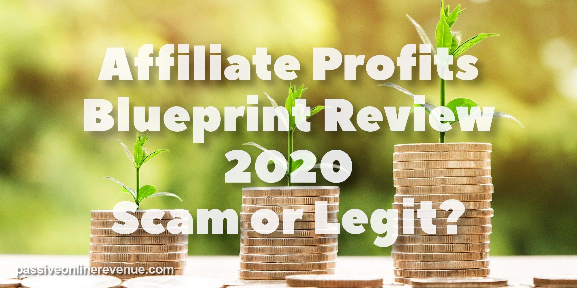 Affiliate Profits Blueprint Review 2020 - Scam or Legit?