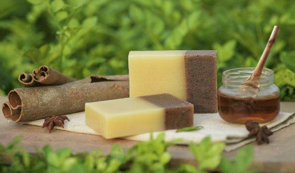 Handmade Soap and Honey