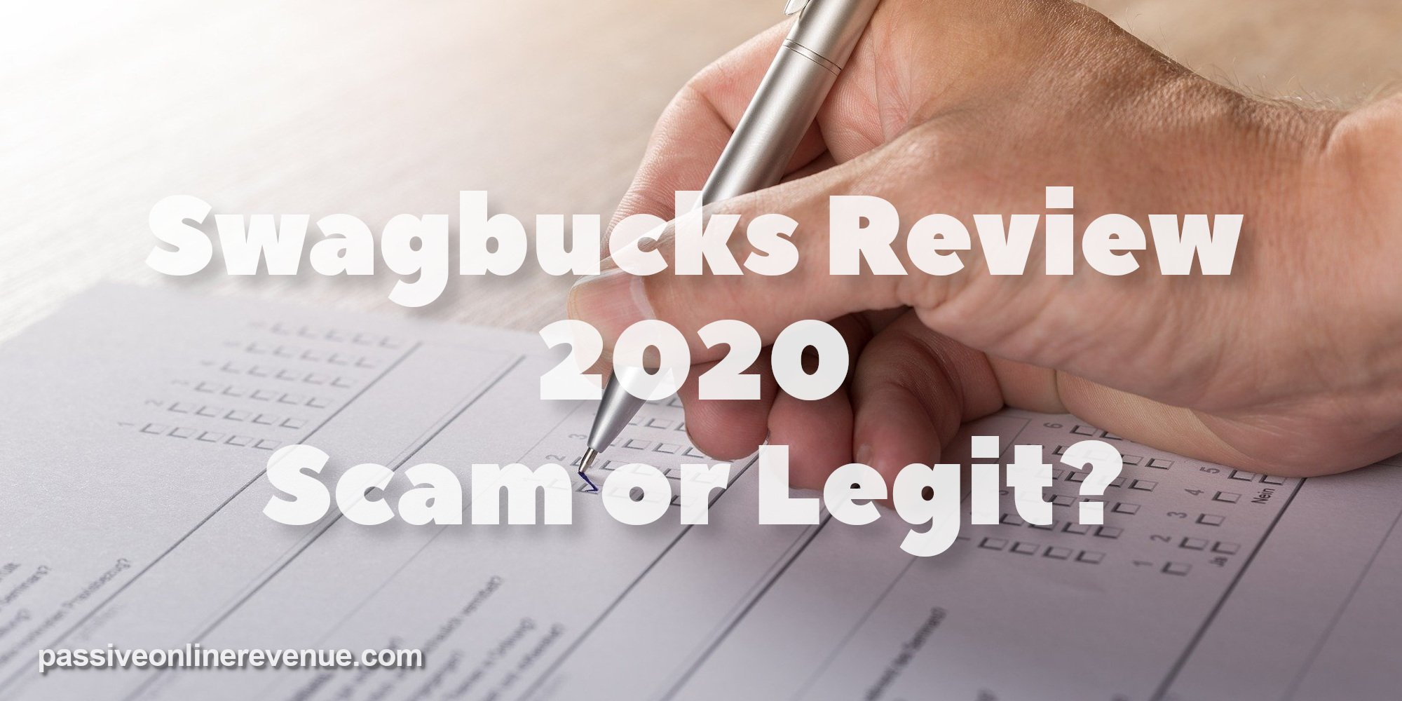 Swagbucks Review 2020 - Scam or Legit?