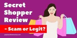 Secret Shopper Review - Scam or Legit?