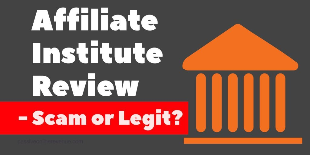 Affiliate Institute Review - Formerly Global Affiliate Zone (GAZ) - Scam or Legit?