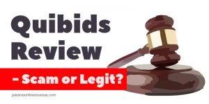Quibids Review - Scam or Legit?