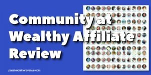 Community at Wealthy Affiliate Review