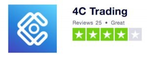4C Trading Received 4 Star Rating at TrustPilot