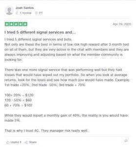 4C Trading Reviews on Trustpilot - Joah Santos
