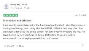 4C Trading Reviews on Trustpilot - Ronny McDonald