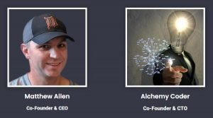 AmaLinks Pro Co-Founders - Matthew Allen and Alchemy Coder