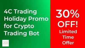 4C Trading Holiday Promo for Crypto Trading Bot