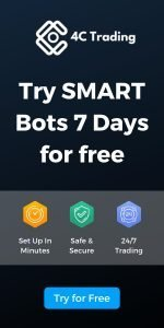 4C Trading - Try SMART Bots 7 Days For Free - Sidebar Banner