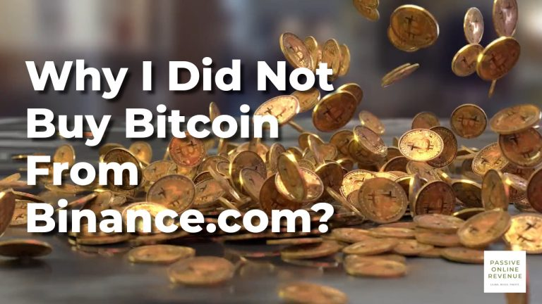 Why I Did Not Buy Bitcoin From Binance.com?