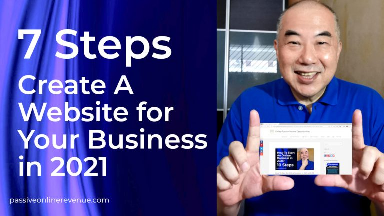 7 Steps to Create A Website for Your Business in 2021