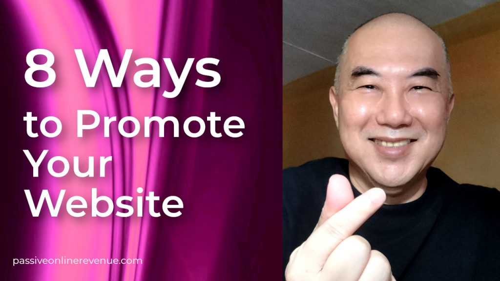 8 Ways to Promote Your Website