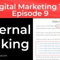 On Page SEO - Internal Linking - 6th of 12 Techniques That Work | Episode 9 | Digital Marketing 101