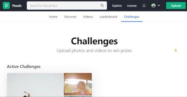 Pexels Photo Challenge
