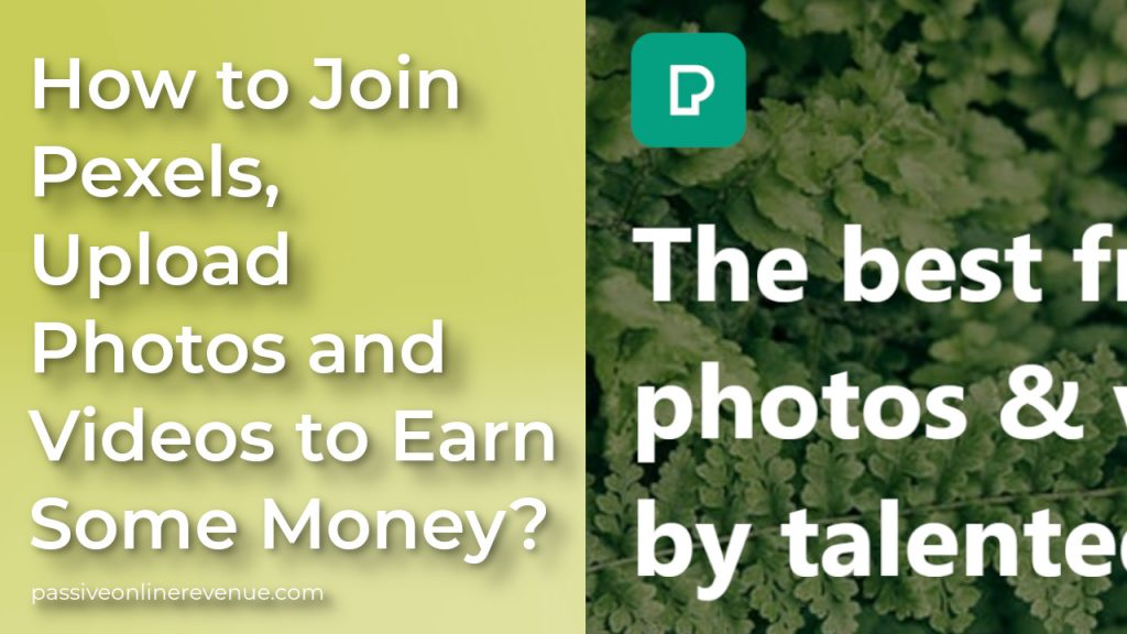 How to Join Pexels, Upload Photos and Videos to Earn Some Money?